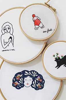 embroidery collabs